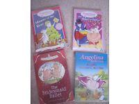 ANGELINA BALLERINA BUNDLE - 3 DVDS, audio CD, Book