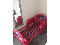Spiderman Toddler Bed suitable for 1 - 4 year olds Red