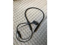 BeatsX wireless headphones - black
