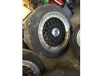 Lenso alloy wheels with tyres 15""