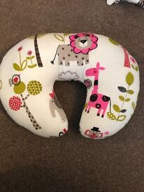 Baby support pillow and bug inflatable support