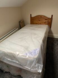** BRAND NEW SINGLE BED FOR SALE**