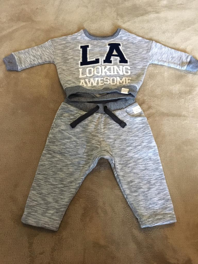 innovative design new arrive detailed images Boys River Island Tracksuit Age 3-6 months | in Wilnecote ...