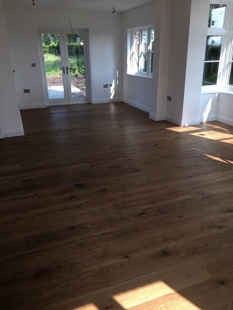 Laminate / wood floor. supplied and fitted
