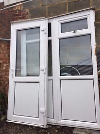UPVC Double Glazed Door and Porch Set – With Key