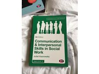 4 Social work univesity course books