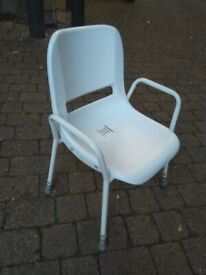 Shower chair mobility assistance adjustable height central London