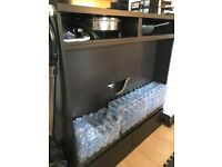 Free IKEA tv stand with 2 cabinet for storage