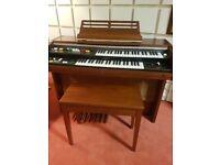 Yamaha Electric Organ - Electone BK-200 with Matching Stool