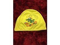 Fabric swim hat crocodile design Drayton