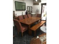 Barker and Stonehouse dining set. Very good condition