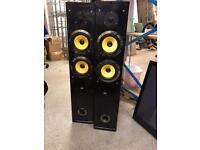 Matrix MX 1200 Floor Standing Speakers (Pair)