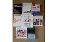 Computing, Animation and Business books – various titles - £5 each, or £25 for bundle