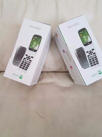 2 Brand New Doro Mobile phones