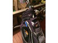 golf bag&clubs