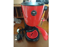 COLLECTION ONLY. A Modo Mio. Piccina, Saeco Coffee Machine. Red.