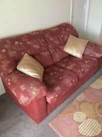 FREE Comfortable sofa with rug