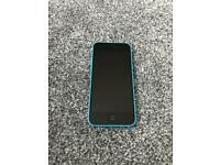 iPhone 5c blue very good condition