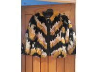 River lsland faux fur jacket
