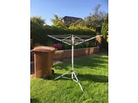 Travel whirlie, great for camping, caravan, motor home or small flat. Bin not for sale, just to size