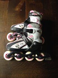 Girls inline skates size UK 12-2