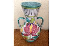 PRICE LOWERED Mid Century/Retro/Vintage/Antique Italian/Italy Pottery/Vase/Jug Ceramic