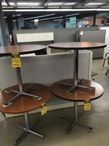 USED Office Furniture Round Tables