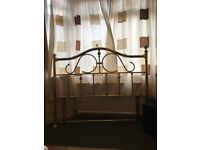 Double bedhead gold metal