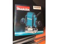 Makita router new