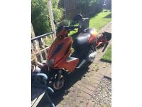 Yamaha aerox 50cc has fuel blockage back on due non collection pls see pics no not dials stick