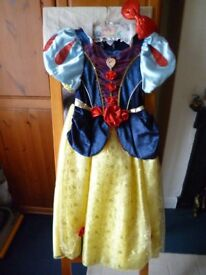 Snow White Fancy Dress to fit 7-8 yrs VGC