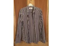Penguin Heritage Slim Fit Check Shirt - Almost new - Size Medium
