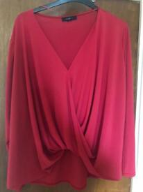 Long Sleeve Top Size 20