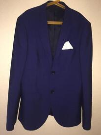 Navy Blue Full Suit (Topman)