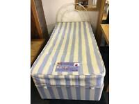 Single divan bed can deliver
