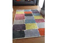 Habitat Mattie 100% wool rug 1.7m x 2.4m - ex display as new
