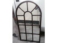 Mirror in Mahogany frame