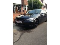 Black BMW 3 series excellent drive