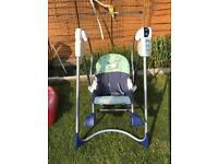 Baby swing £10