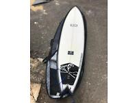 """Superfish 6'3"""" Sea Shepherd Surfboard (With Carry Case)"""