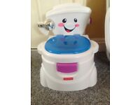 Fisher price toilet potty