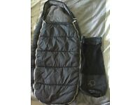 Quinny footmuff x2 with carry bags