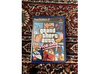 Play Station 2 PS Grand Theft auto Vice City Game