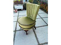 Vintage wade bedroom chair for sale