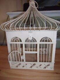 Decorative Bird Cage for Arrangements or Centre Piece.