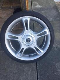 "Mini Cooper s jcw 18"" alloy wheels"