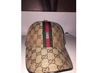 Gucci hat,