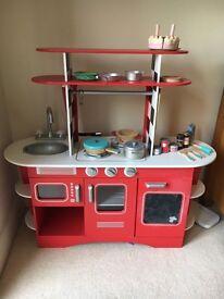 ELC Boys and Girls Retro Wooden Diner Kitchen