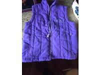 Cuddly ponies horse riding gillet jacket for child age 3-4