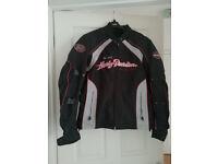 Harley Davidson Female Motor Cycle Jacket